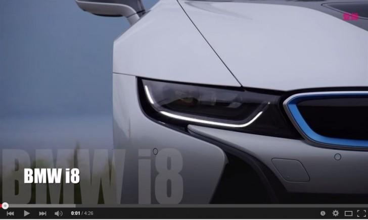 BMW i8 testdrive