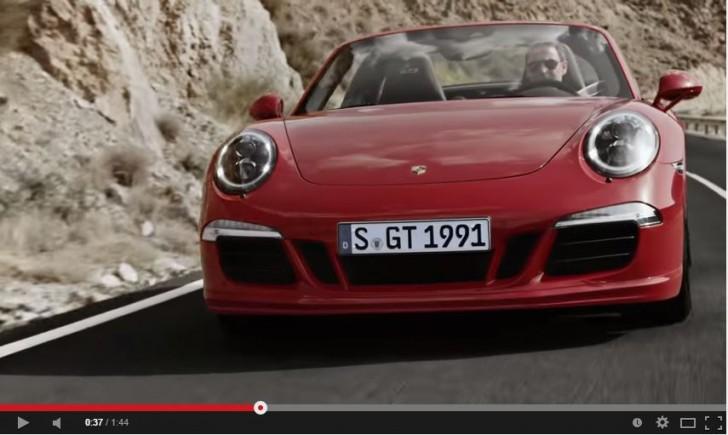 new 911 Targa 4 GTS