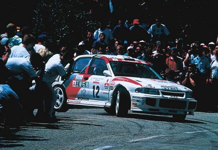 Mitsubishi Lancer RS Evo WRC