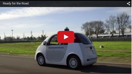 Google 自動運転カー2