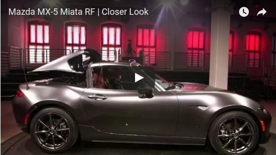 Mazda MX 5 Miata RF Closer Look YouTube