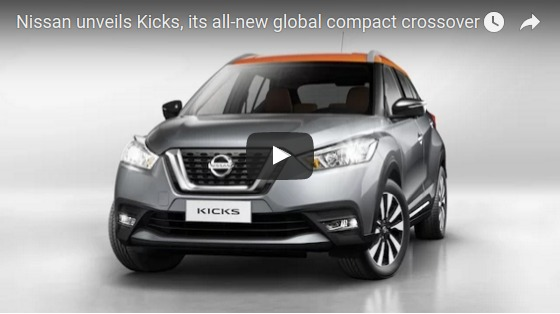 Nissan unveils Kicks its all new global compact crossover YouTube