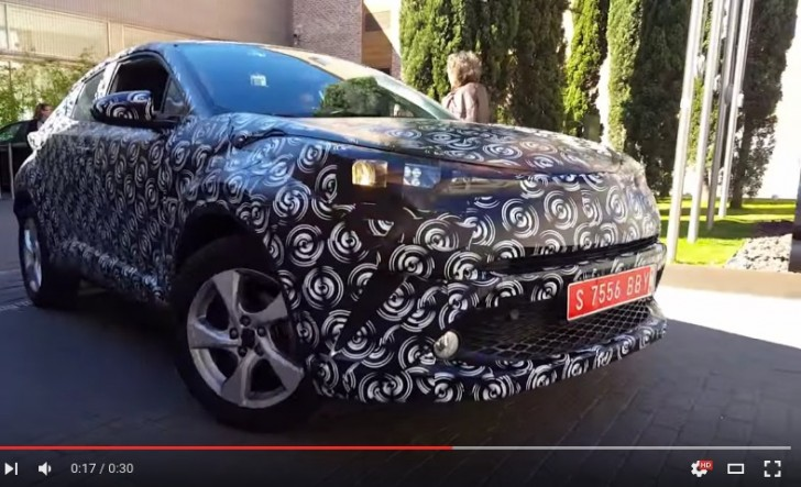 Toyota C HR 2016. Prototipos en Madrid YouTube
