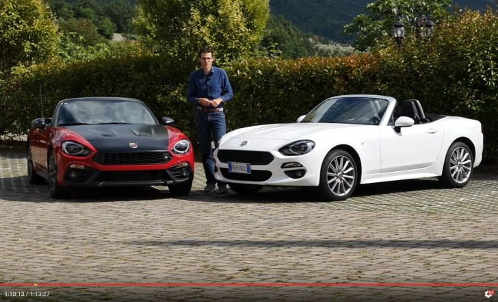 fiat 124spider vs abarth 124spider
