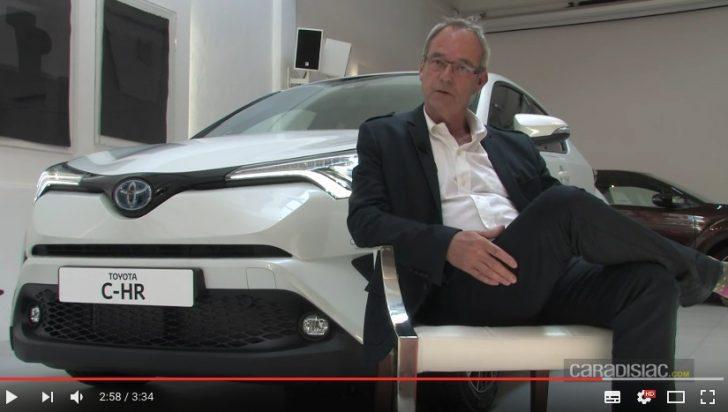 Présentation vidéo Toyota C HR que reste t il à Lexus YouTube