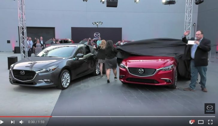 Exclusive look 2017 Mazda3 Mazda6 Driving Matters YouTube