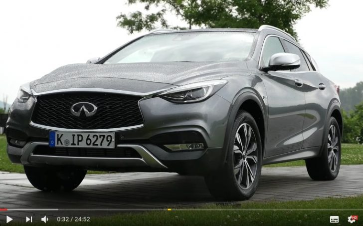 Infiniti QX30 FULL REVIEW test driven new crossover 2017 neu YouTube