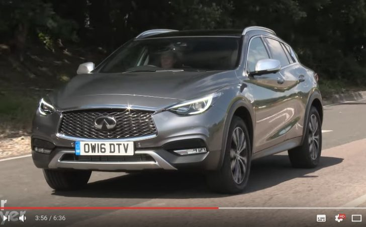 Infiniti QX30 SUV review   Carbuyer   YouTube