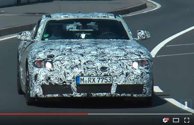 new-toyota-supra-out-for-a-test-drive-youtube