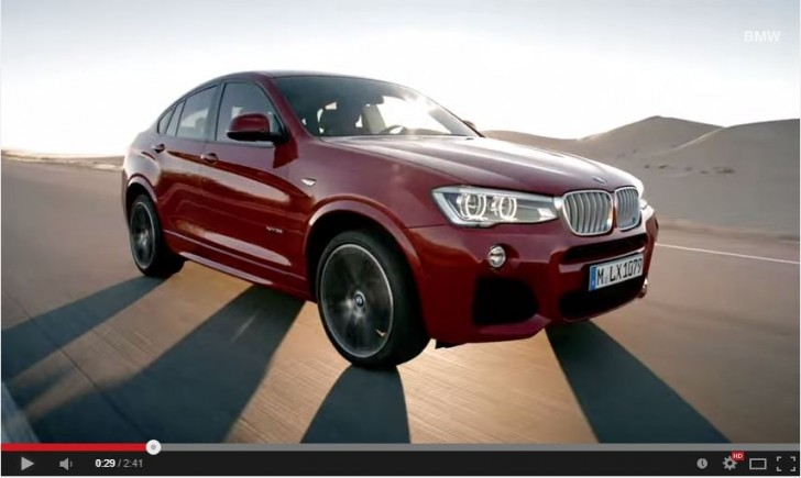 BMW X4 official
