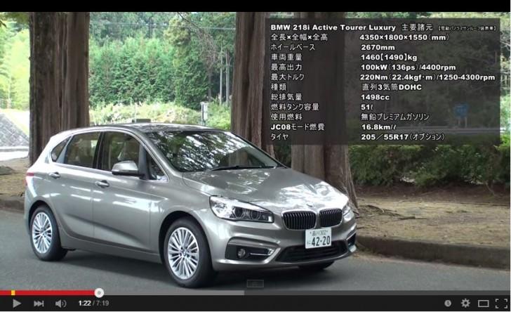 BMW 2series active tourer