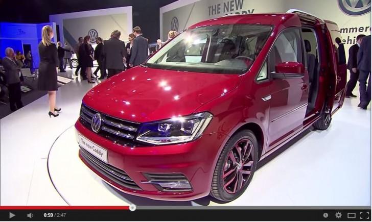 VW CADDY presen