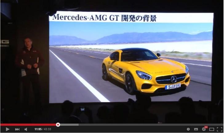 AMG GT press