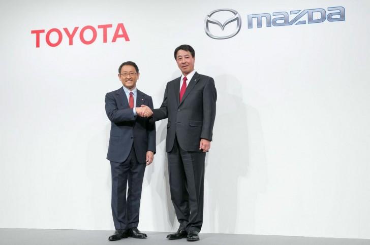 トヨタ マツダ 提携M