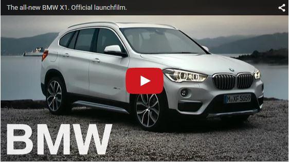 BMW X1 launch