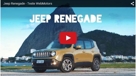 Jeep renegade testdrive