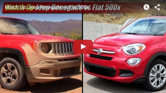 FIAT500X JEEP RENEGADE