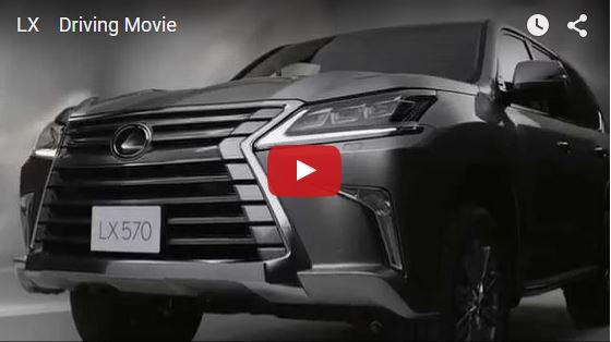 LEXUS LX570 official movie