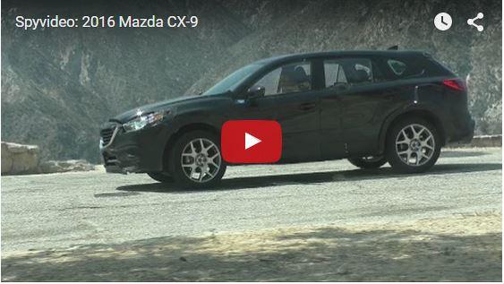 MAZDA CX-9 SPYMOVIE