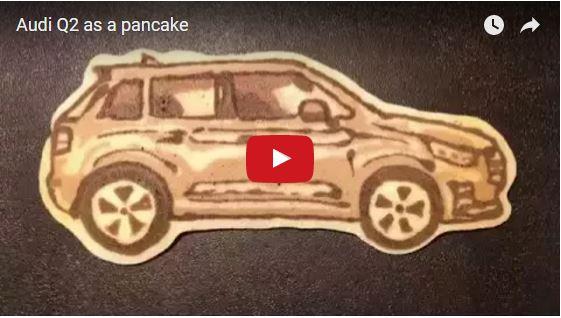AUDI Q2 pancake
