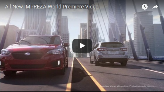 All New IMPREZA World Premiere Video YouTube
