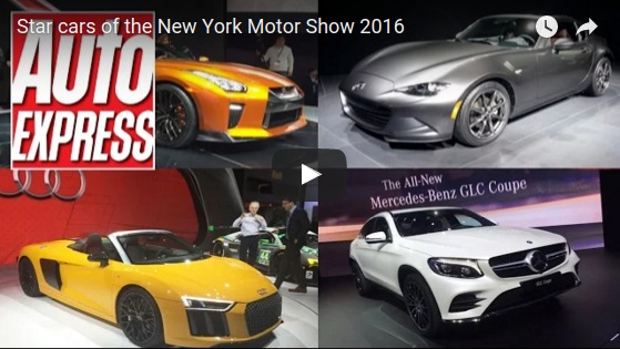 Star cars of the New York Motor Show 2016 YouTube
