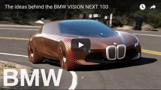 The ideas behind the BMW VISION NEXT 100   YouTube