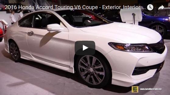 2016 Honda Accord Touring V6 Coupe Exterior Interior Walkaround 2016 Ottawa Gatineau Auto Show YouTube