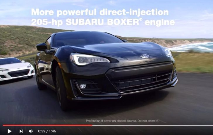 2017 Subaru BRZ I Vehicle Highlights YouTube - Edited