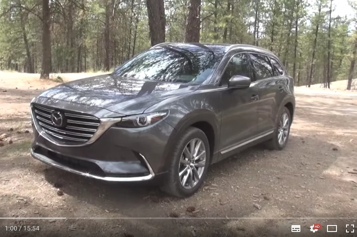Off Road Review 2016 Mazda CX 9 AWD on Everyman Driver YouTube