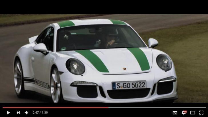 Porsche 911 R Hillclimb at Goodwood Festival of Speed 2016 YouTube