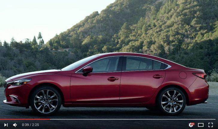 2017 Mazda6 Footage YouTube