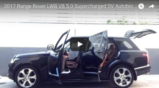 2017 Range Rover LWB V8 5.0 Supercharged SV Autobiography Review
