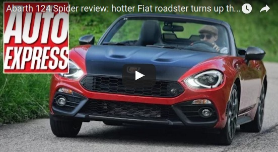 Abarth 124 Spider review hotter Fiat roadster turns up the fun YouTube