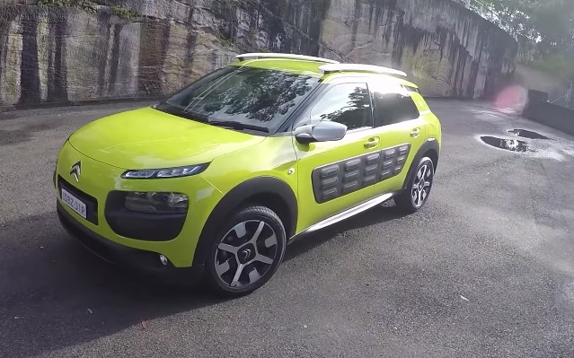 Citroen C4 Cactus diesel review first impressions YouTube