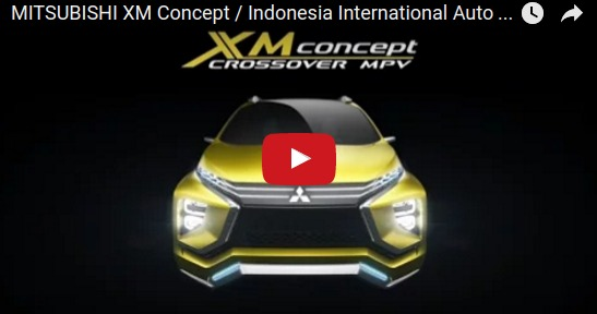 MITSUBISHI XM Concept Indonesia International Auto Show 2016 YouTube