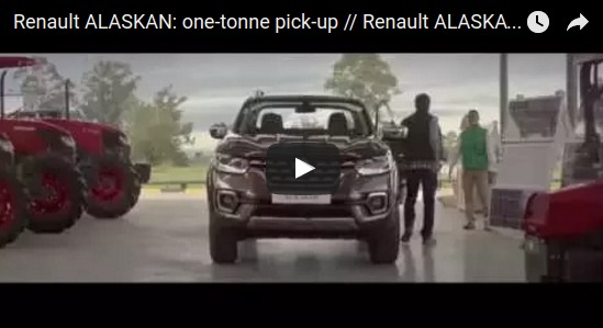 Renault ALASKAN one tonne pick up Renault ALASKAN pick up une tonne YouTube