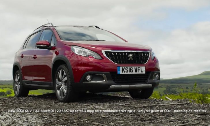 The New Peugeot 2008 SUV  with Rebecca Jackson