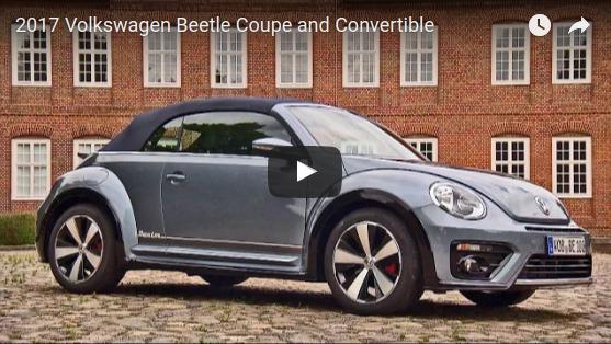 VW beetle convertible 2017