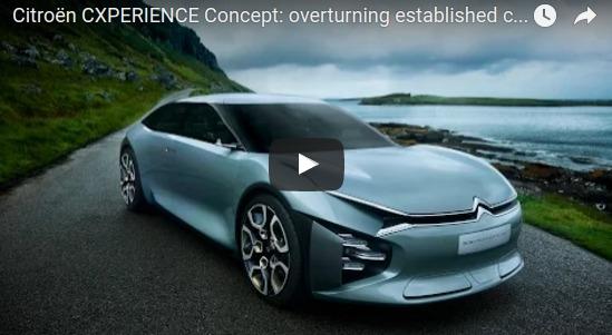 Citroën CXPERIENCE Concept overturning established codes YouTube