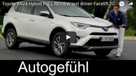 Toyota RAV4 Hybrid FULL REVIEW test driven Facelift 2016 Autogefühl YouTube