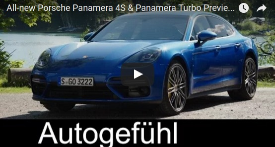 All new Porsche Panamera 4S Panamera Turbo Preview Exterior Interior Autogefühl YouTube